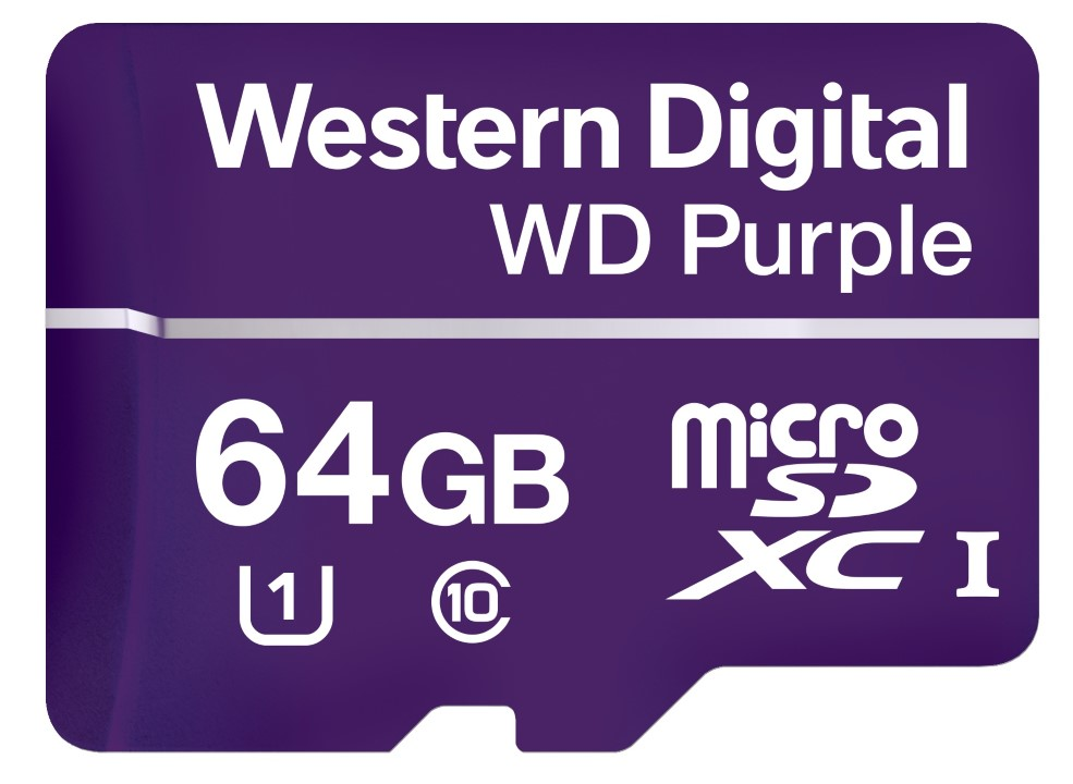 Western Digital Introduce Purple MicroSD Card - Surveillance Card For Cameras And Edge Systems 21