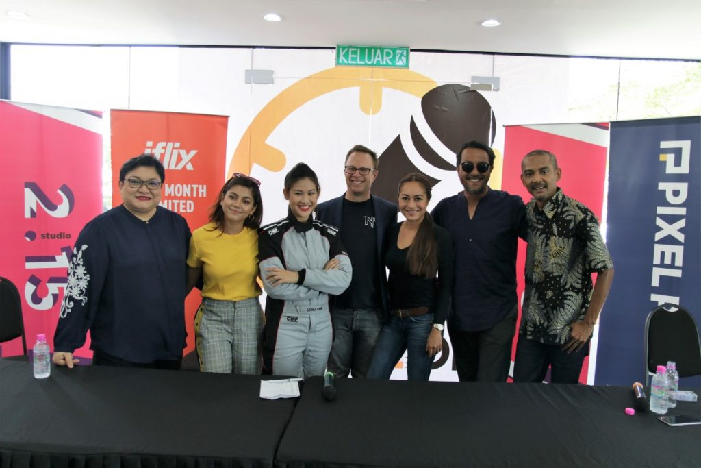iflix Begins Caraoke Drift Production - Ready To See Leona Chin Torture Celebrities? 23