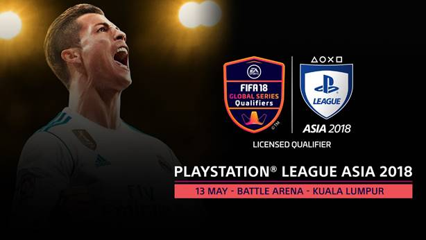 PlayStation League Asia 2018 Announced: The Road to FIFA eWorld Cup 2018