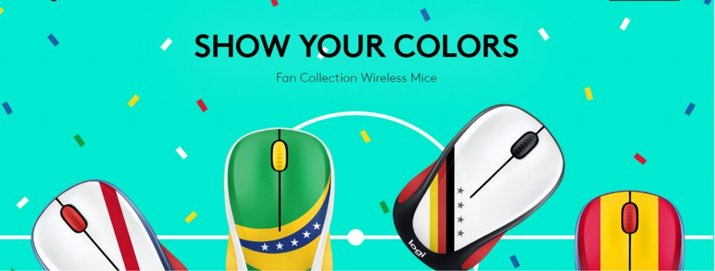 Logitech Release M238 Fan Collection Mouse - World Cup Themed Wireless Mouses! 24