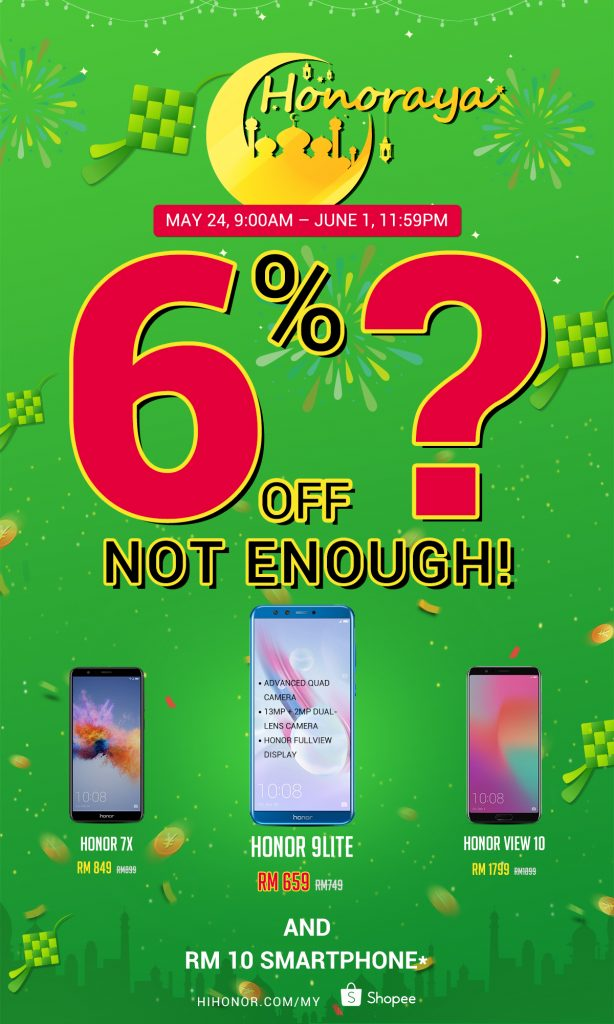 honor Malaysia Announce honoraya Promotion - A Smartphone For Only RM10? 23