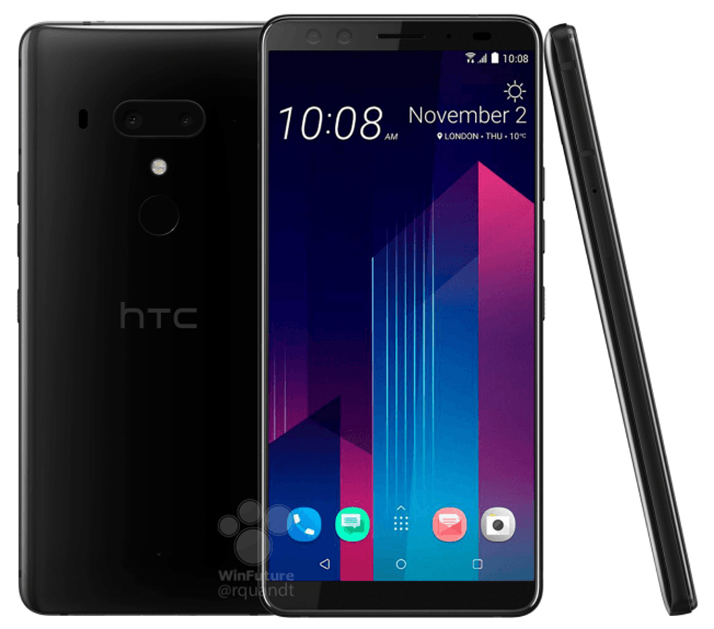 [Update 1] HTC U12+ Leaked - No Notches To Be Seen Anywhere! 28