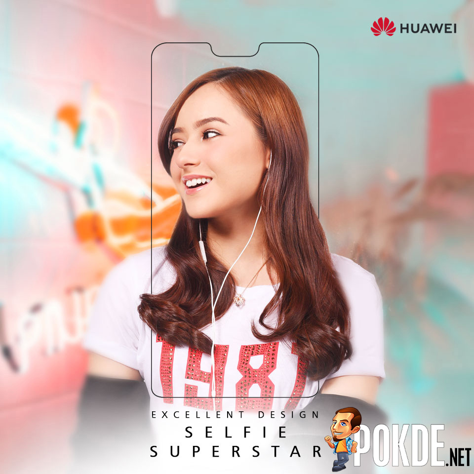 "HUAWEI to bring in the next gen Selfie Superstar soon — how ""notchy"" of them to tease us 22"