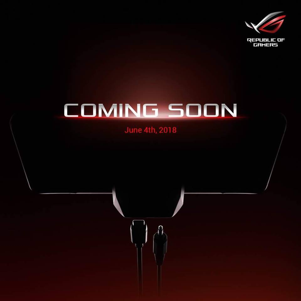 ROG phone teaser — ROG Phone to feature a dedicated gaming dock? 24