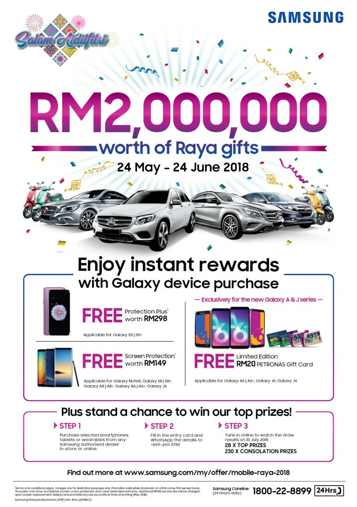 Stand A Chance To Win Gifts Worth RM 2,000,000 - When you purchase selected Samsung devices 19