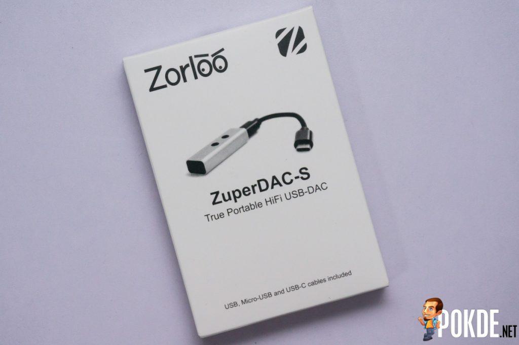 Zorloo ZuperDAC-S Truly Portable HiFi USB DAC review 24