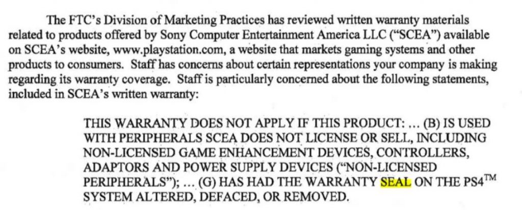 Sony, Nintendo and Microsoft Threatened with Legal Action by FTC