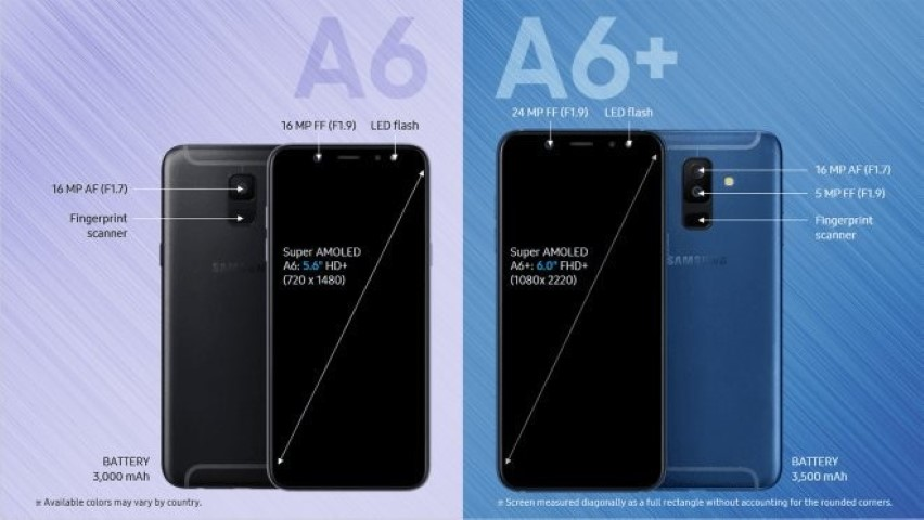 Samsung Galaxy A6 And A6+ Coming Soon - Super AMOLED Display With Dual Cameras 26