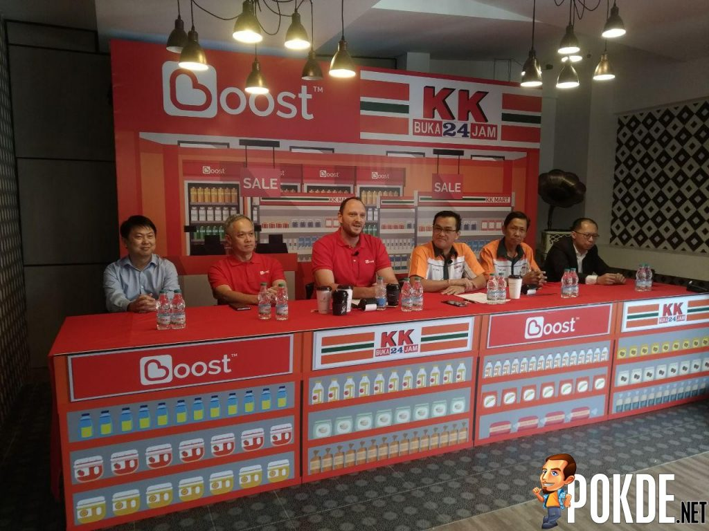 KK Super Mart Going Cashless With Partner Boost- First 24-hour convenience store to go cashless 22