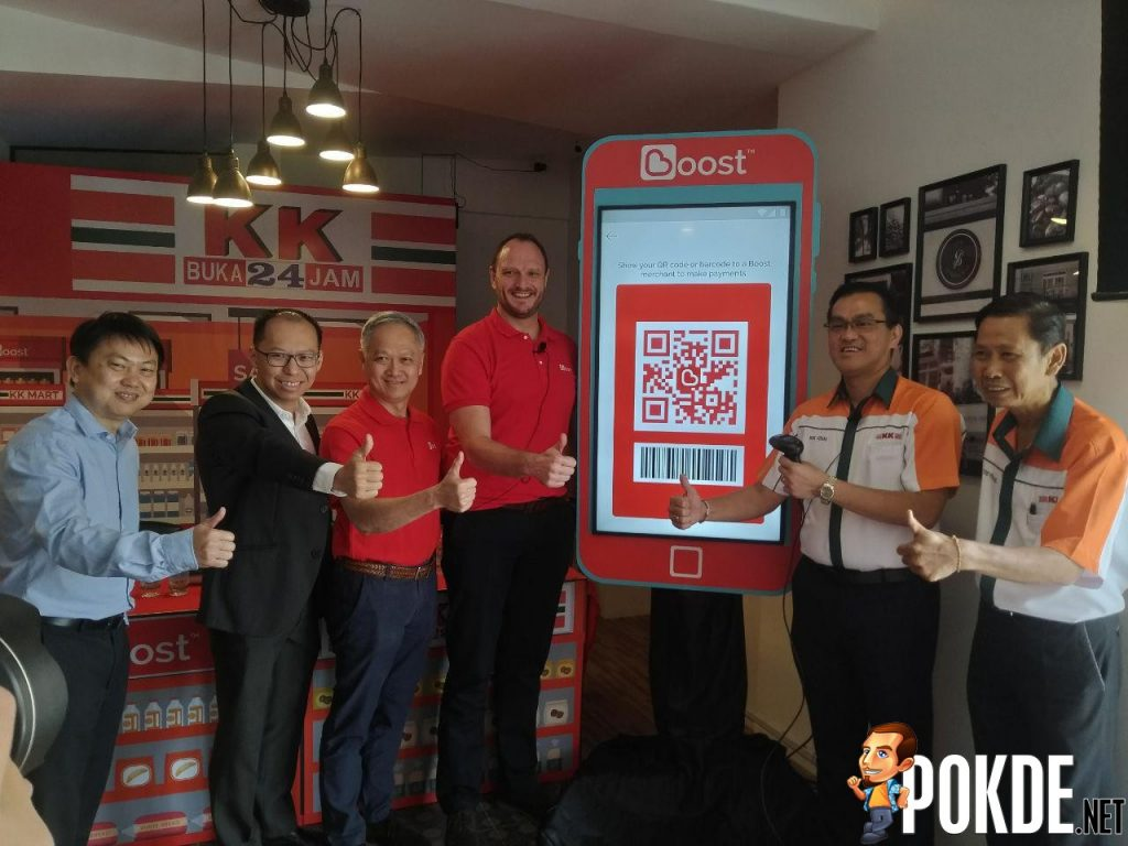 KK Super Mart Going Cashless With Partner Boost- First 24-hour convenience store to go cashless 24