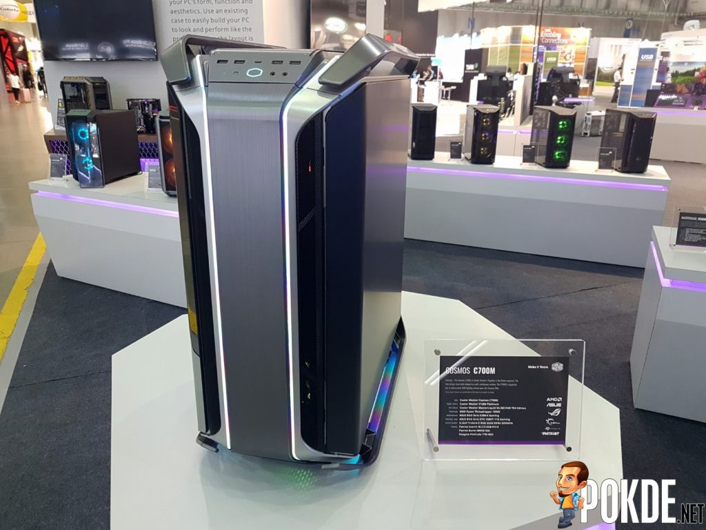 [Computex 2018] Cooler Master Reveals New Case Lineup - Expanding the COSMOS, H-Series and K-Series 22