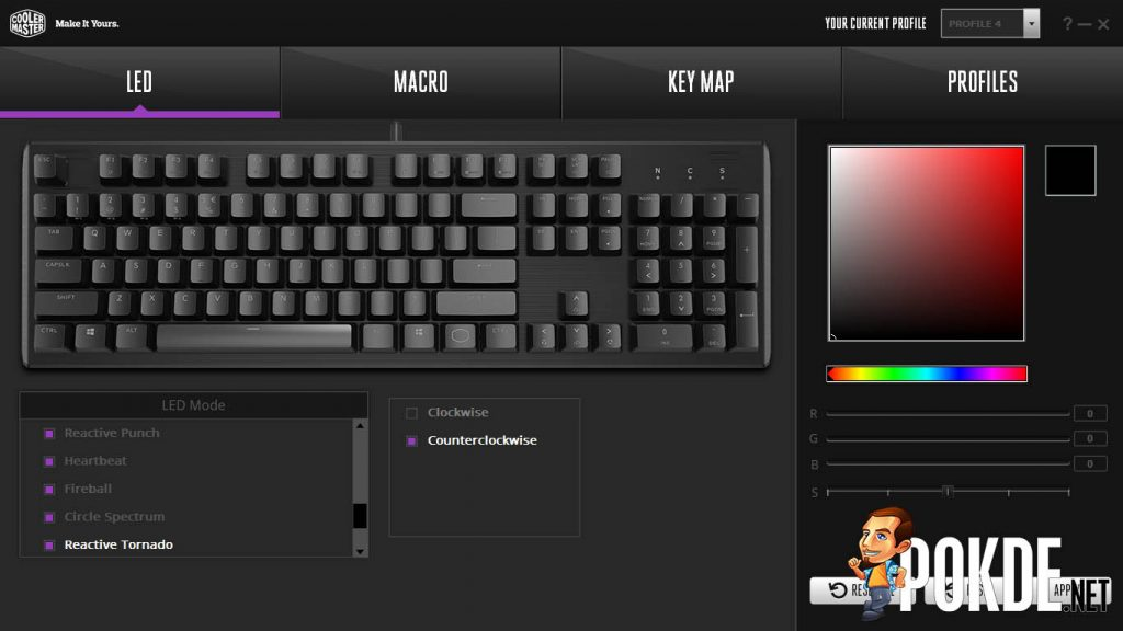 Cooler Master CK550 RGB Mechanical Keyboard Review — smooth strokes and pretty colors 35