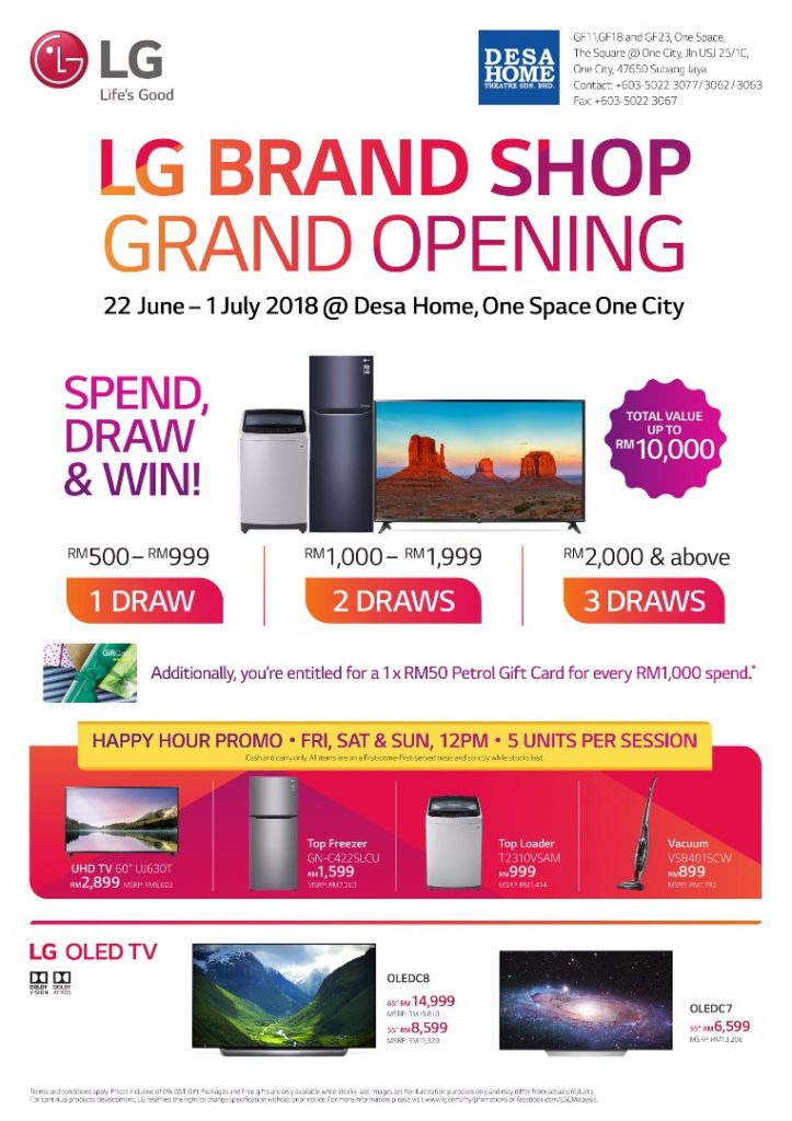 LG Opens First Brand Store In Subang Jaya — Happy Hour Promo Beckons! 26