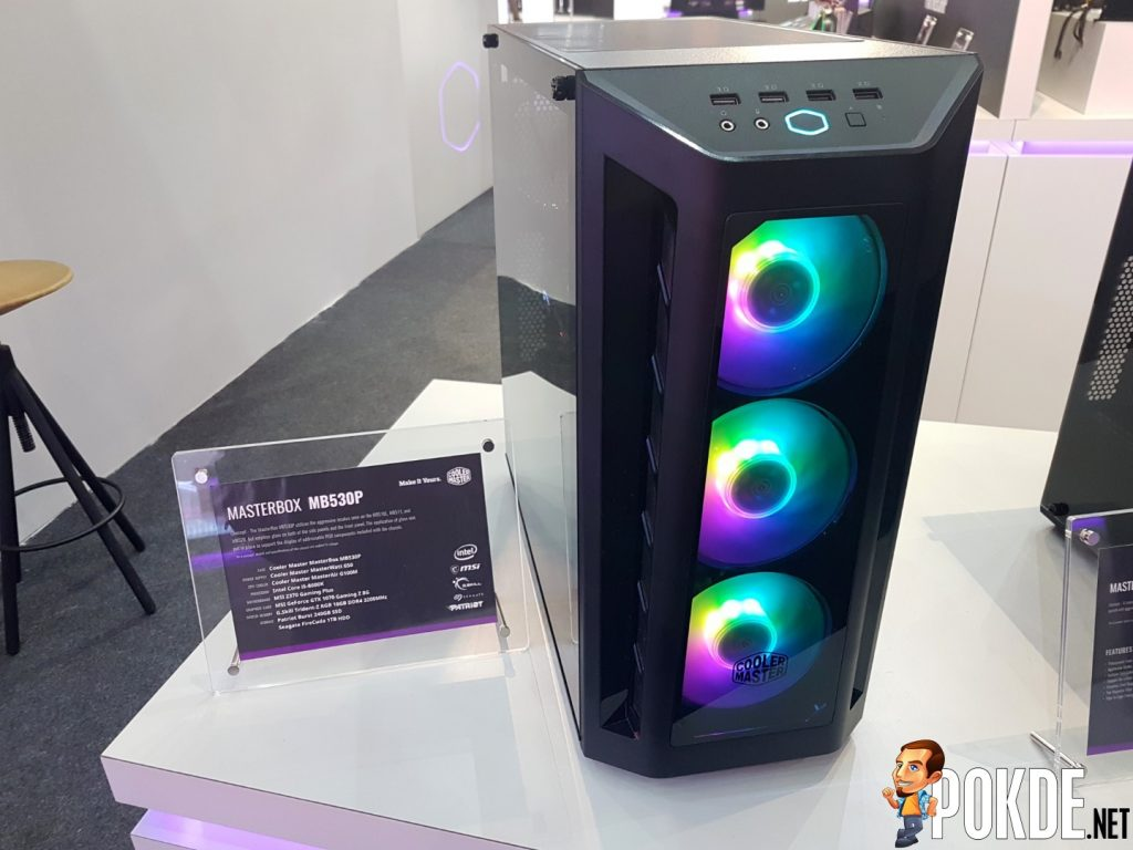 [Computex 2018] Cooler Master Reveals New Case Lineup - Expanding the COSMOS, H-Series and K-Series 27