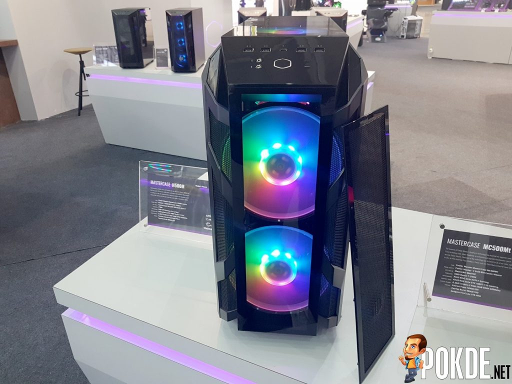 [Computex 2018] Cooler Master Reveals New Case Lineup - Expanding the COSMOS, H-Series and K-Series 26