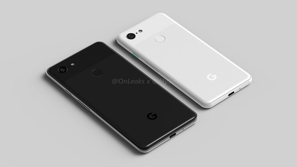 The Pixel 3XL is a top-notch device too — leaked design renders reveal entirety of the Pixel 3 devices 19