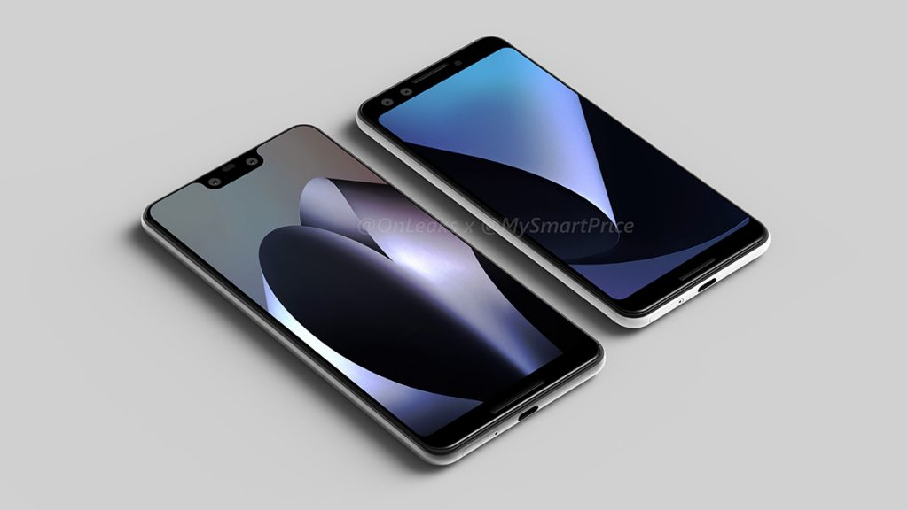 The Pixel 3XL is a top-notch device too — leaked design renders reveal entirety of the Pixel 3 devices 17