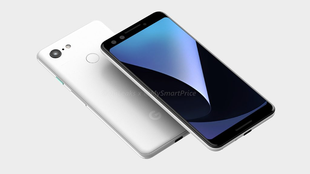 The Pixel 3XL is a top-notch device too — leaked design renders reveal entirety of the Pixel 3 devices 18