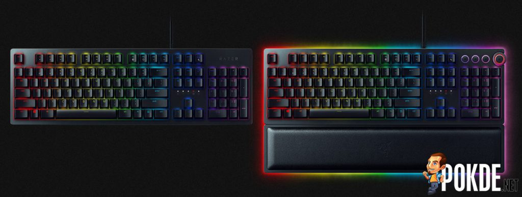 Razer's latest keyboard uses light for more than just RGBae — New Razer Opto-mechanical Switch for fast-as-light actuation 24