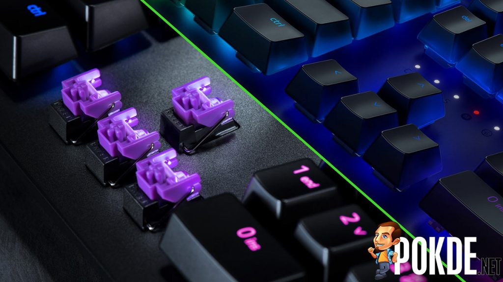 Razer's latest keyboard uses light for more than just RGBae — New Razer Opto-mechanical Switch for fast-as-light actuation 23