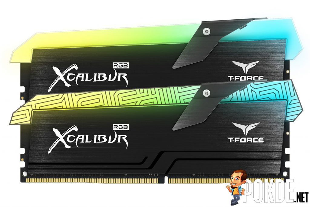 T-FORCE XCALIBUR DDR4 RAM to be priced from $235 — to be available in 3600 MHz and 4000 MHz, in two different designs 23