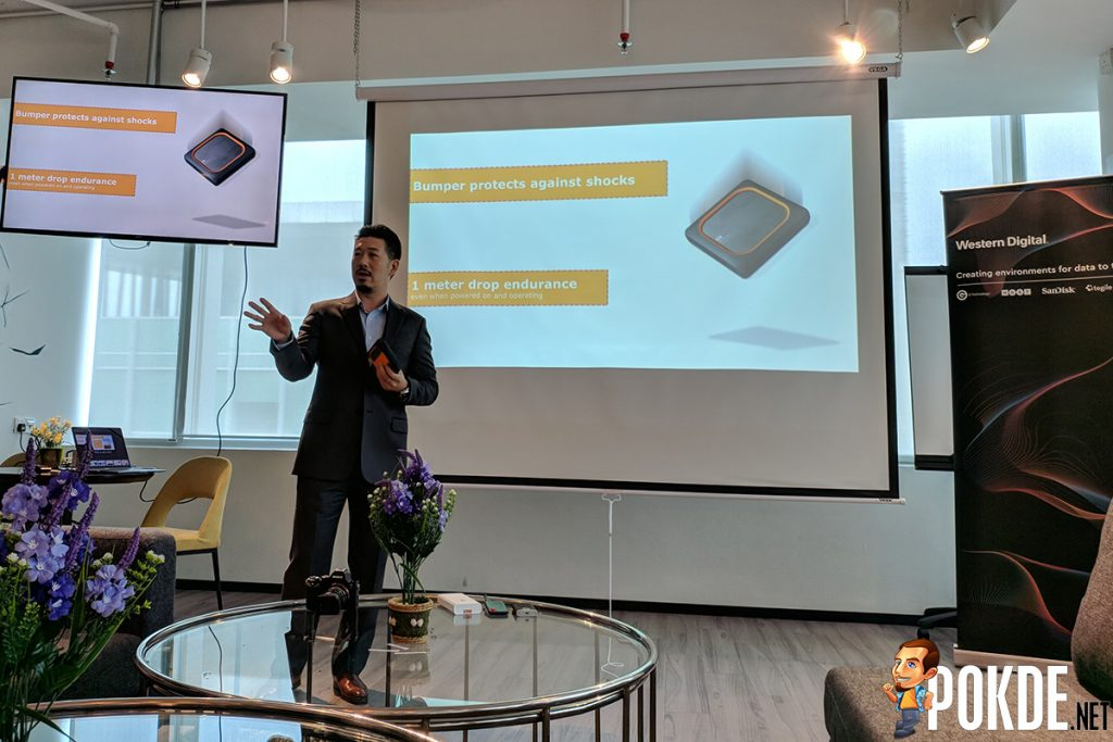 WD brings their latest portable SSDs to Malaysia — proven to work even after 2m drops! 21