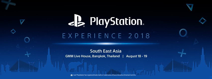 PlayStation Experience 2018 SEA Venue Confirmed