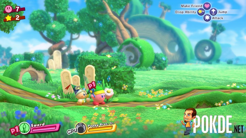 Kirby Star Allies Review Nintendo Switch