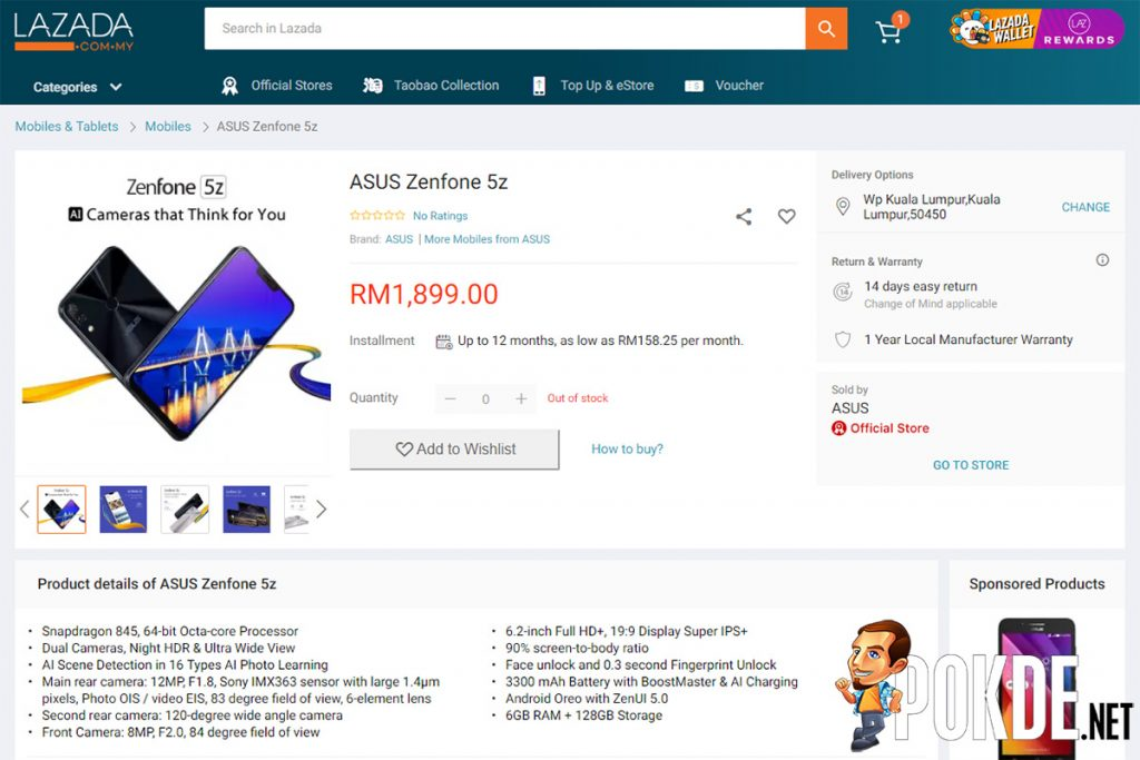 ASUS ZenFone 5z Malaysian pricing LEAKED — a Snapdragon 845 flagship for so little money?! 22