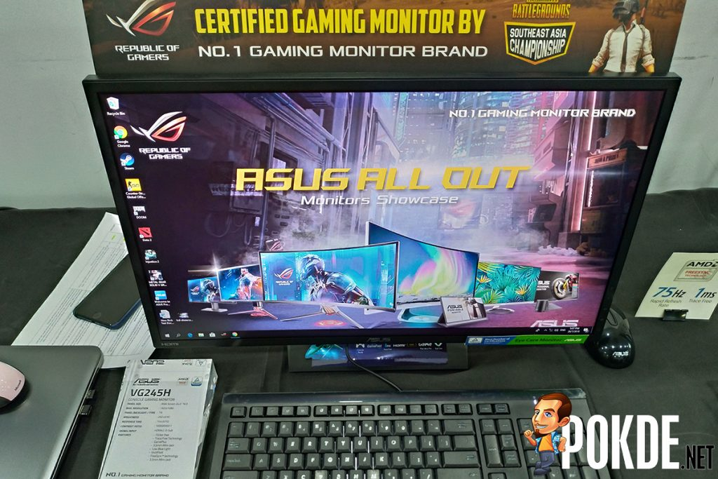 ASUS showcases their latest gaming monitor lineup — including the GOD of Monitors, ROG Swift PG27UQ 26