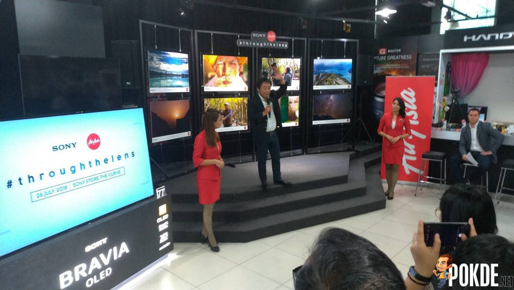 """AirAsia X and Sony Malaysia Launches """"Through the Lens"""""""