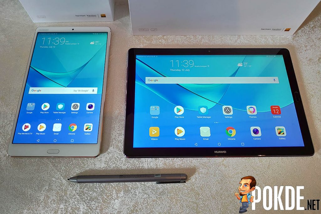 HUAWEI announces the new MediaPad M5 and MediaPad M5 Pro — aims to offer users a bigger screen to play or work on when on the go 22