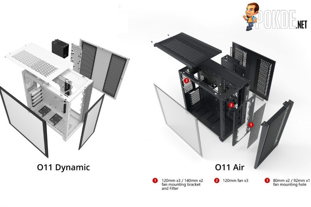 Lian Li PC-O11 Air chassis priced from $129 — more fans = more airflow = more performance! 22
