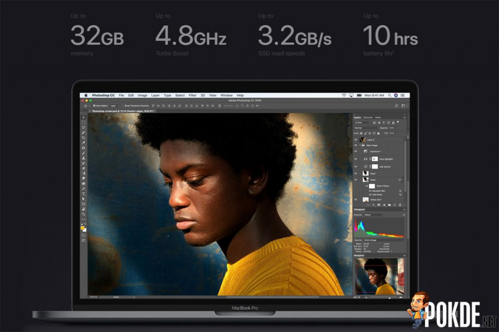 The MacBook Pro is now more pro — more cores and improved butterfly keyboard mechanism 19