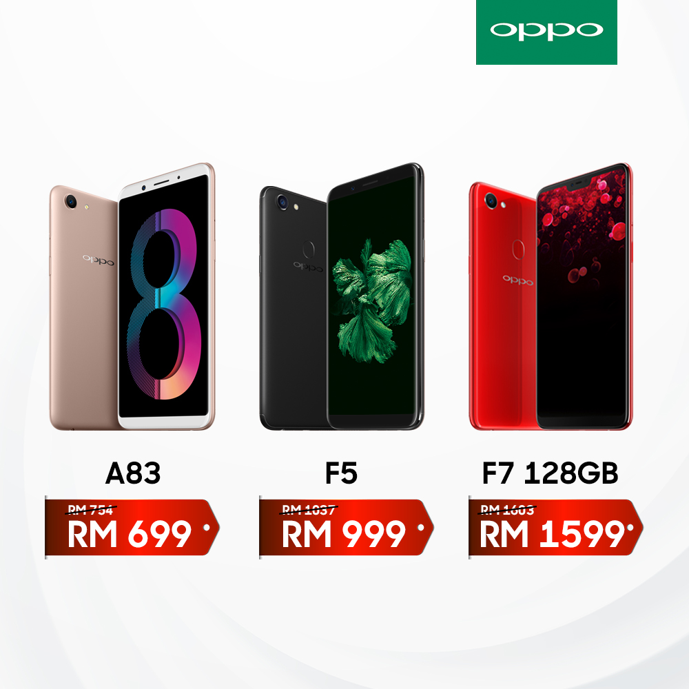 OPPO Adjusts Prices On Phones — OPPO F7 128GB Now With Cheaper Price! 20