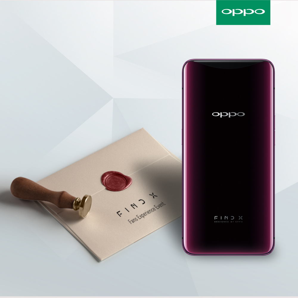 OPPO To Host Find X Fan Experience Event — Will You Be One Of The Lucky Ones To Be Selected? 20