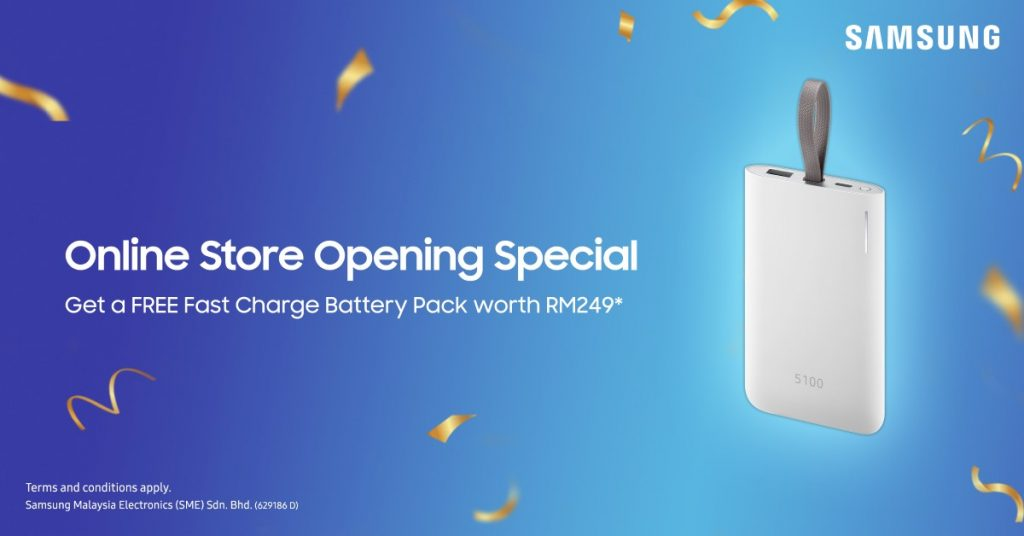 Samsung Online Store Now Open — Get A Fast Charger For Free! 23