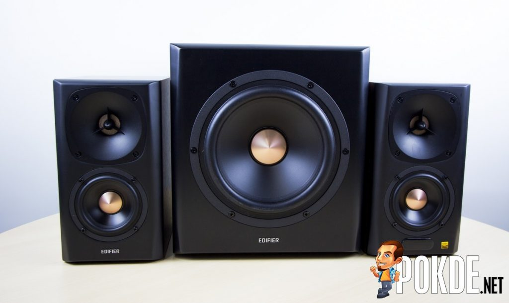 Edifier S360DB Review - 2.1 Active Speakers Enhanced 31