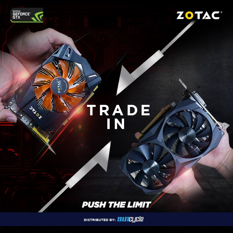 ZOTAC Malaysia Running Graphics Card Trade-In Program