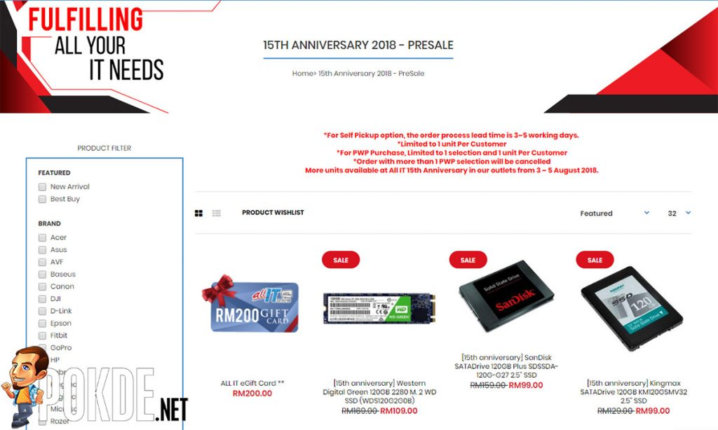 120GB SanDisk SSDs are going for less than RM100! Probably the cheapest SSDs on the market? 16