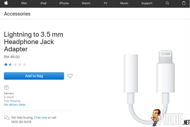 Apple users are still in love with the 3.5mm jack — Lightning to 3.5mm adapter is a top-selling accessory! 22