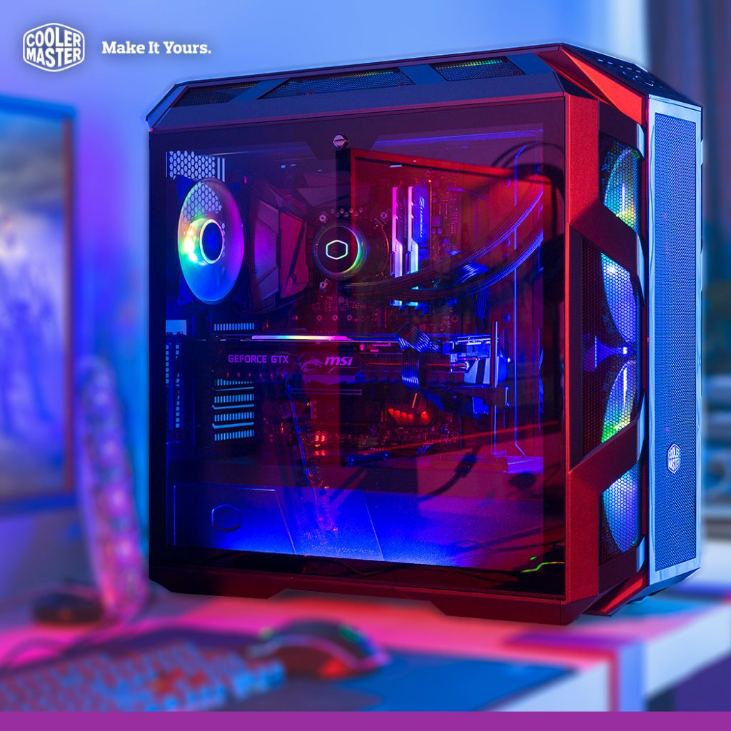Cooler Master Unveils MasterCase H500M — Coming With FOUR Tempered Glass Panels and Two Addressable RGB Fans 26