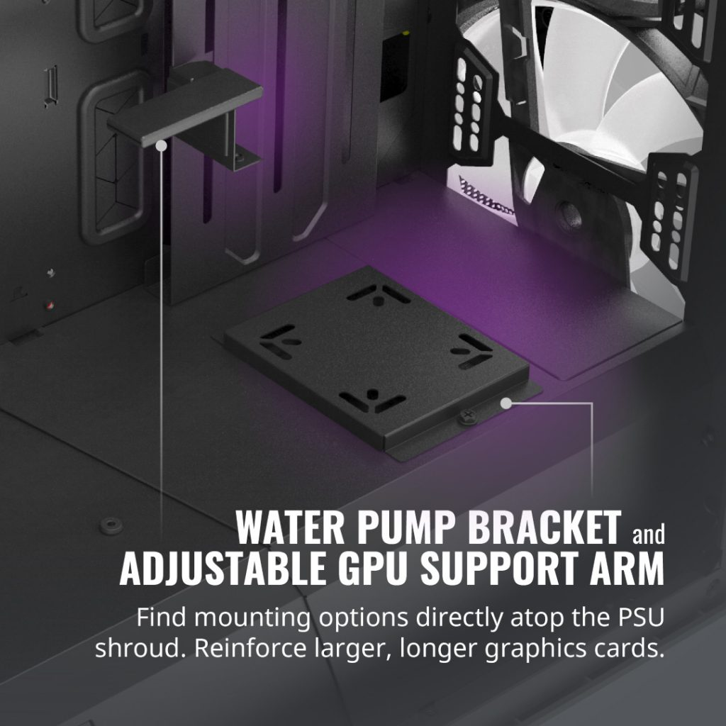 Cooler Master Unveils MasterCase H500M — Coming With FOUR Tempered Glass Panels and Two Addressable RGB Fans 28