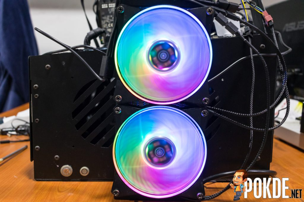 MasterLiquid ML240R RGB by Cooler Master Review — cooler than your average cooler! 34
