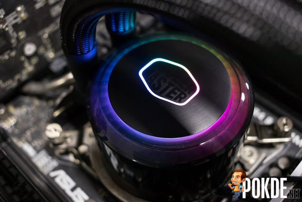 MasterLiquid ML240R RGB by Cooler Master Review — cooler than your average cooler! 35