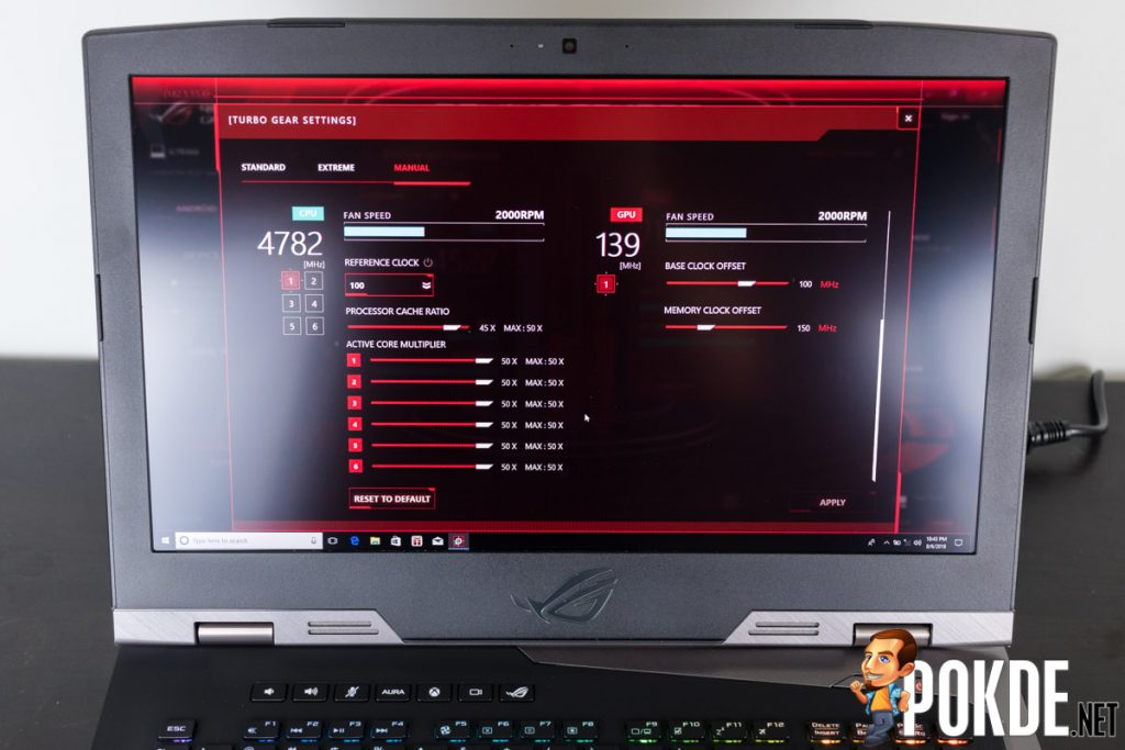 ASUS ROG Chimera G703GI review — blurring the lines between desktops and laptops 38