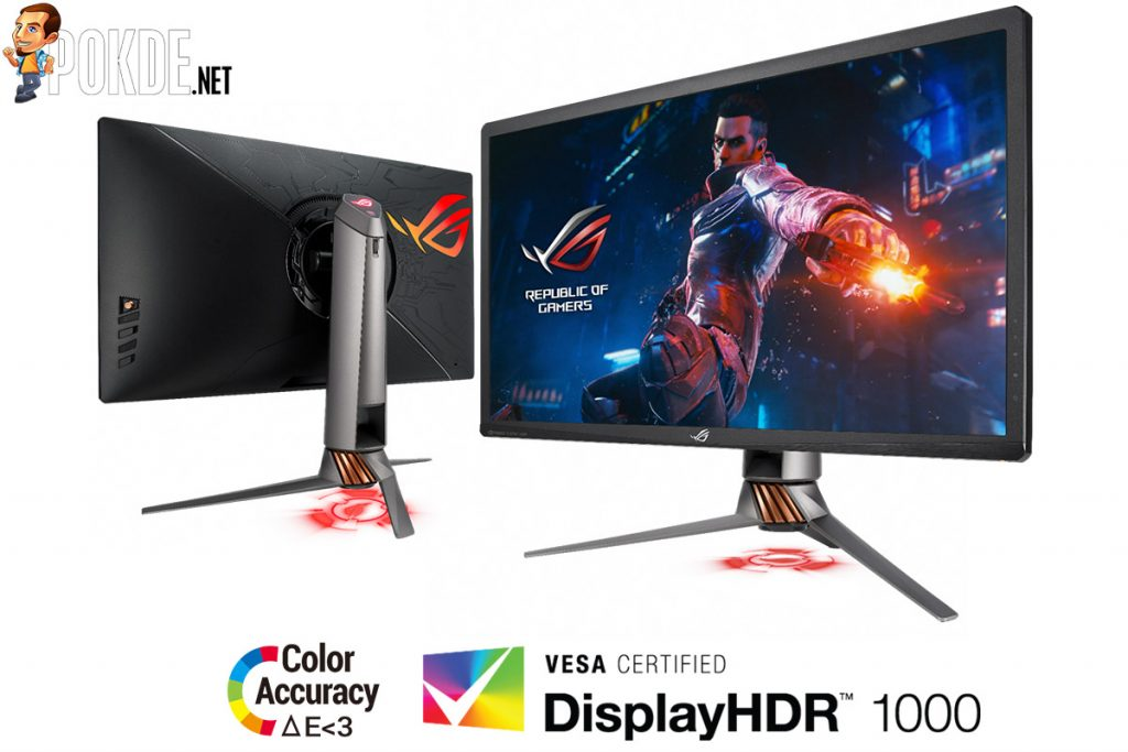 Pre-order the ASUS ROG Swift PG27UQ — the first DisplayHDR 1000-certified gaming monitor is priced at just RM10 999! 23