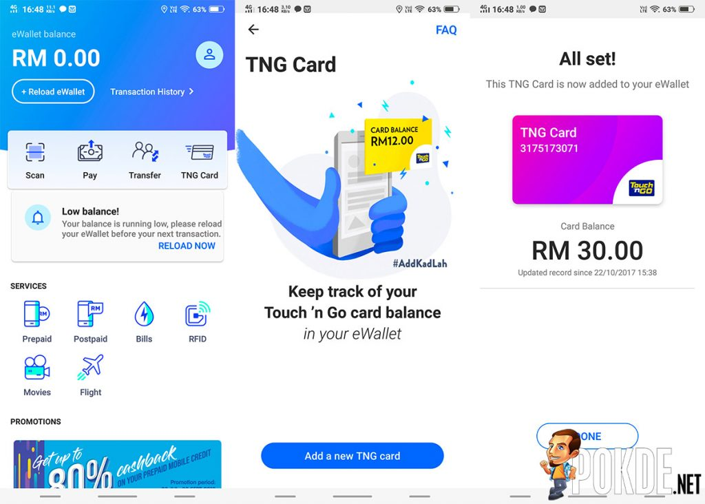 Touch 'n Go eWallet gets updated — check the balance of your Touch 'n Go card from your phone! 21