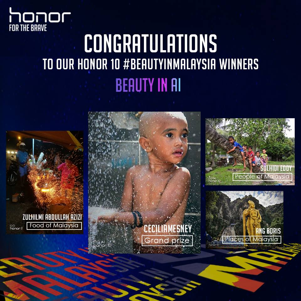 honor #BeautyInMalaysia Contest Close With More Than 1,000 Entries 20