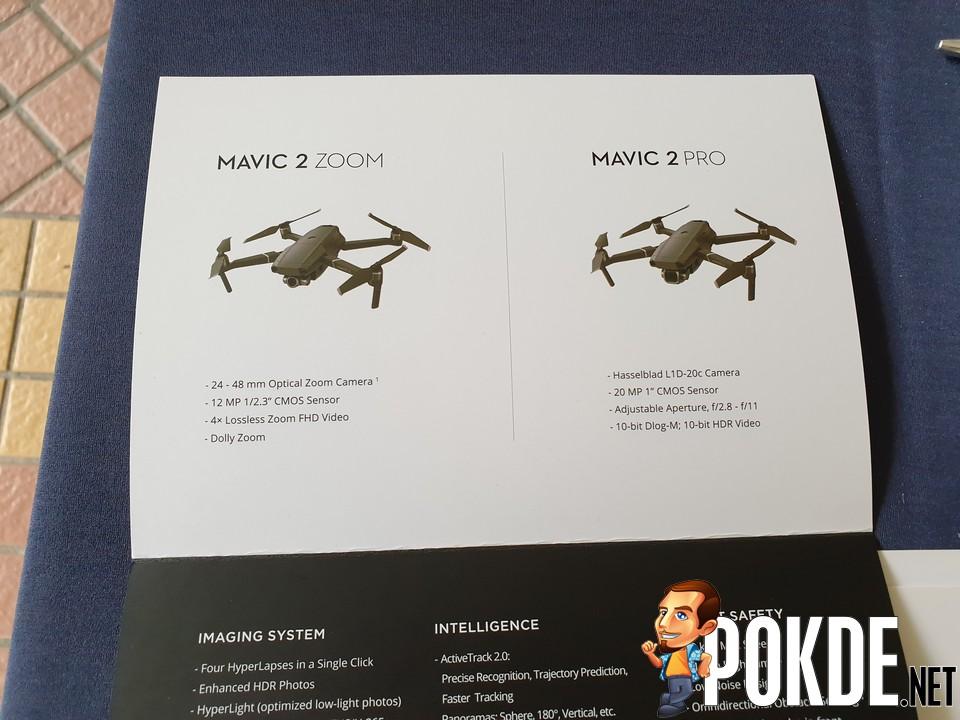 DJI Launches New Mavic 2 Pro and Mavic 2 Zoom in Malaysia